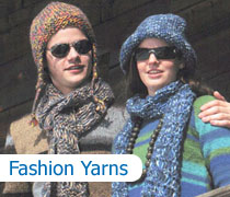 Fashion Yarn Knitting Patterns
